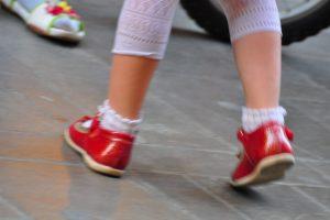 red shoe shuffle