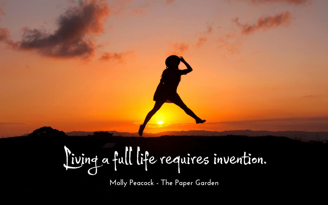 Molly Peacock - The Paper Garden - quotation