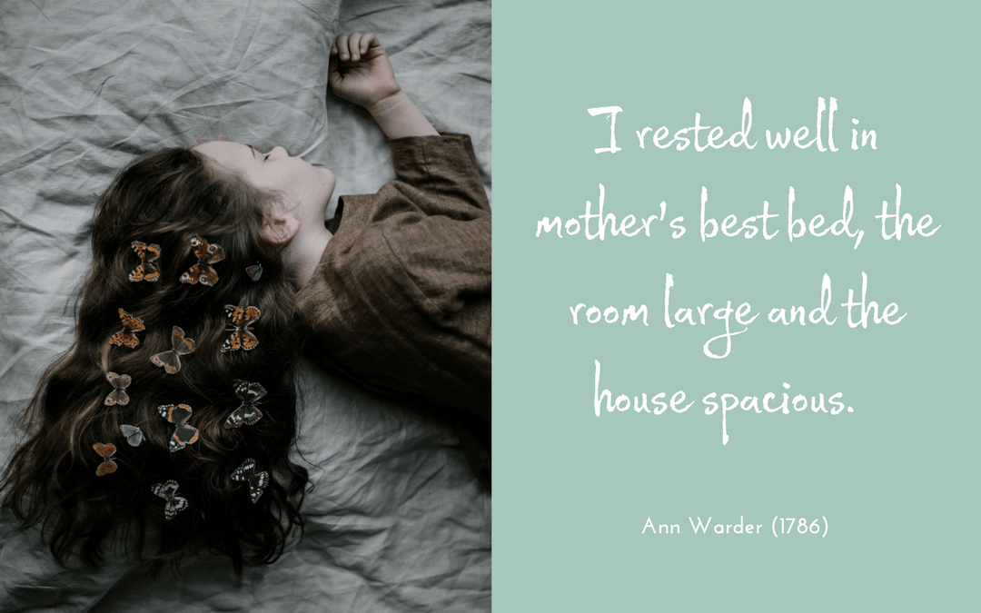 Quotation Ann Warder 1786