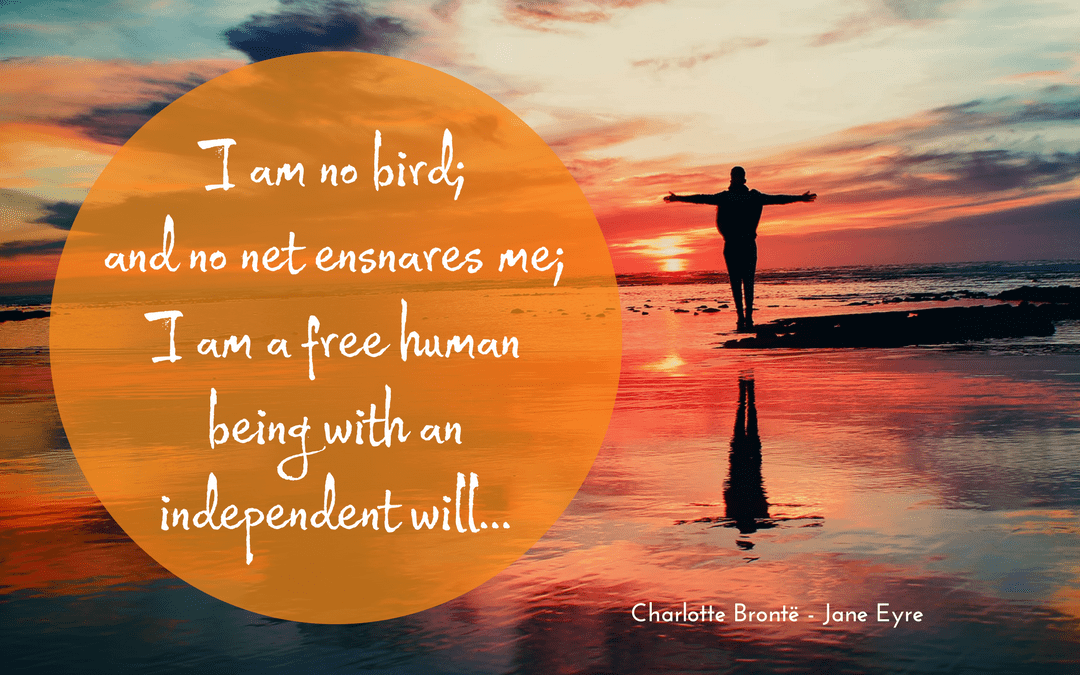 Charlotte Bronte - Jane Eyre - illustrated quotation
