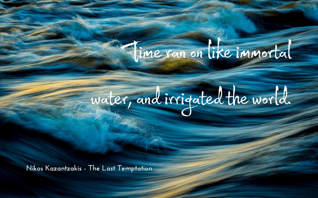 Nikos Kazantzakis - The Last Temptation - quotation