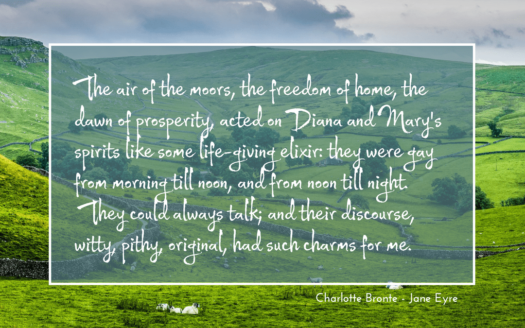 Charlotte Bronte - Jane Eyre quotation