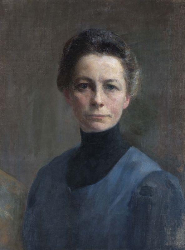 Ivana Kobilca - self-portrait - National Gallery of Slovenia