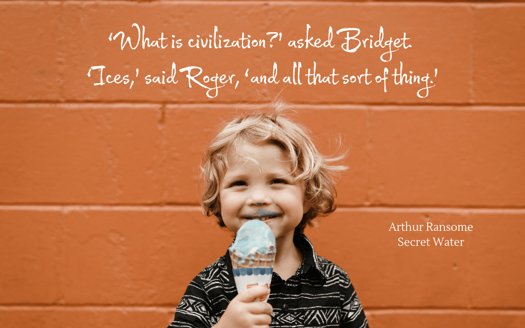 Quotation - Arthur Ransome - Secret Water