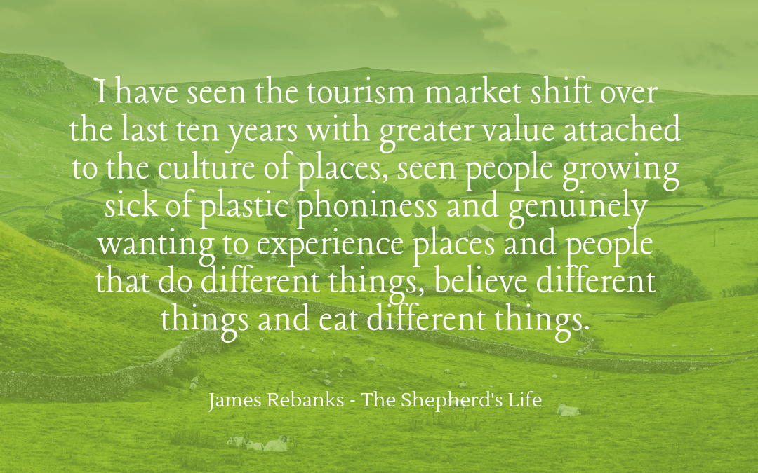 Quotation - James Rebanks - Shepherd's Life