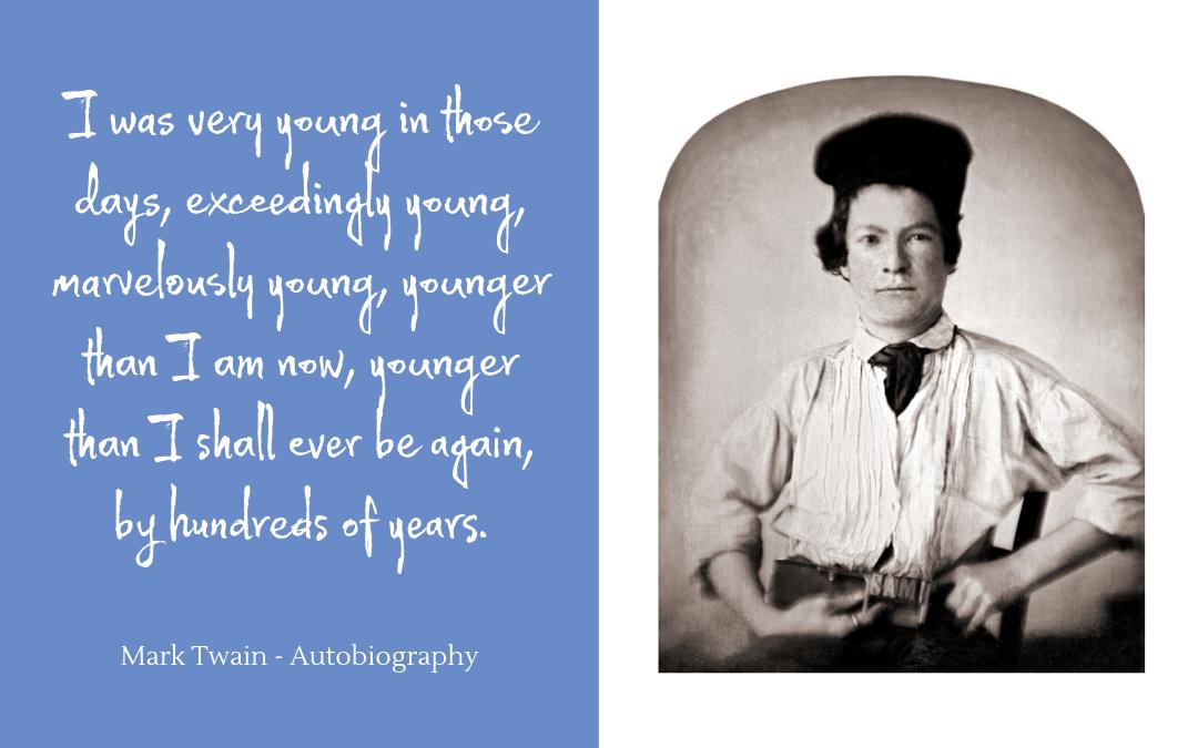 Quotation - Mark Twain - Autobiography