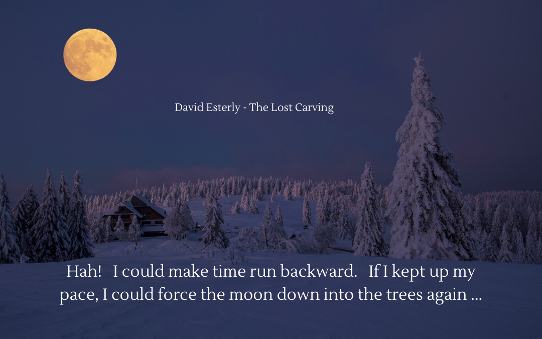 Quotation - David Esterly - The Lost Carving