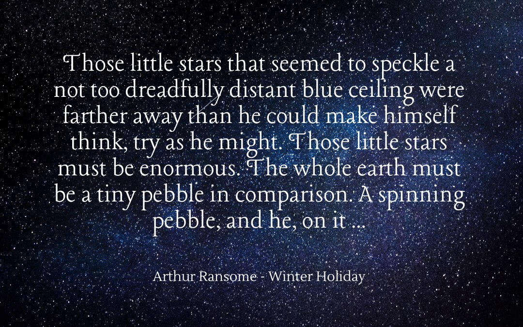 Quotation - Arthur Ransome - Winter Holiday
