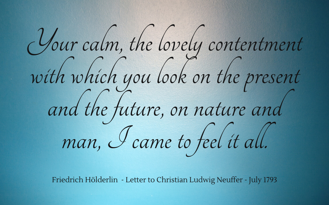 Quotation - Friedrich Hölderlin