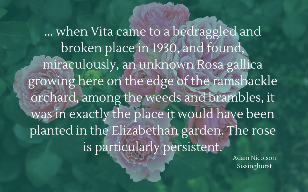 Quotation - Adam Nicolson - Sissinghurst