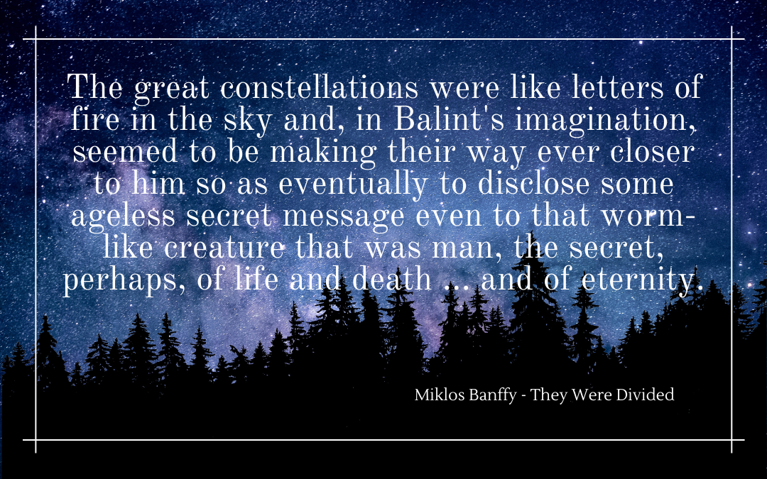 Quotation - Miklos Banffy - They were divided