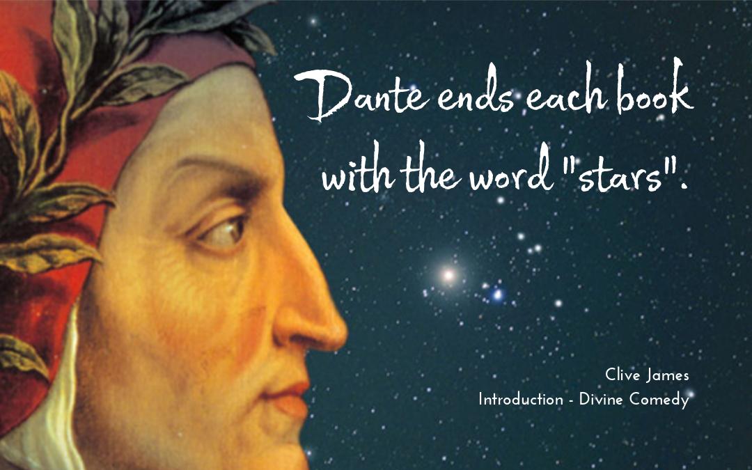 Quotation - Clive James on Dante