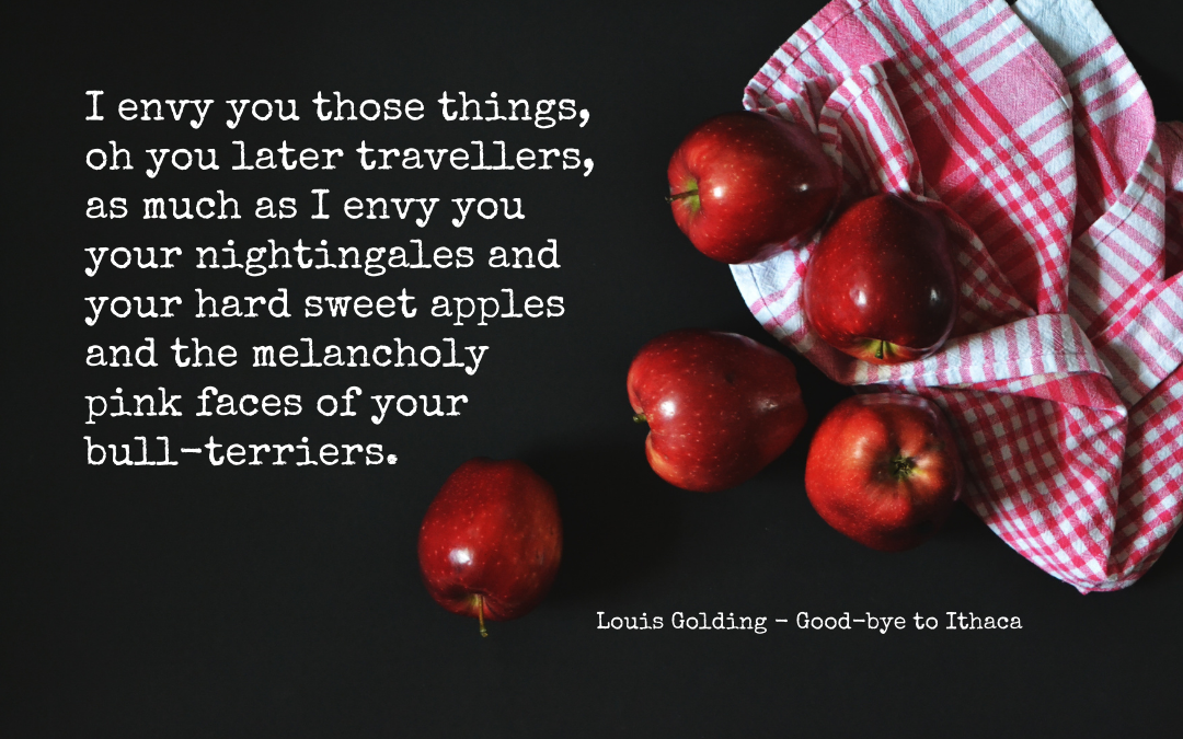 Quotation: Louis Golding, Goodbye to Ithaca