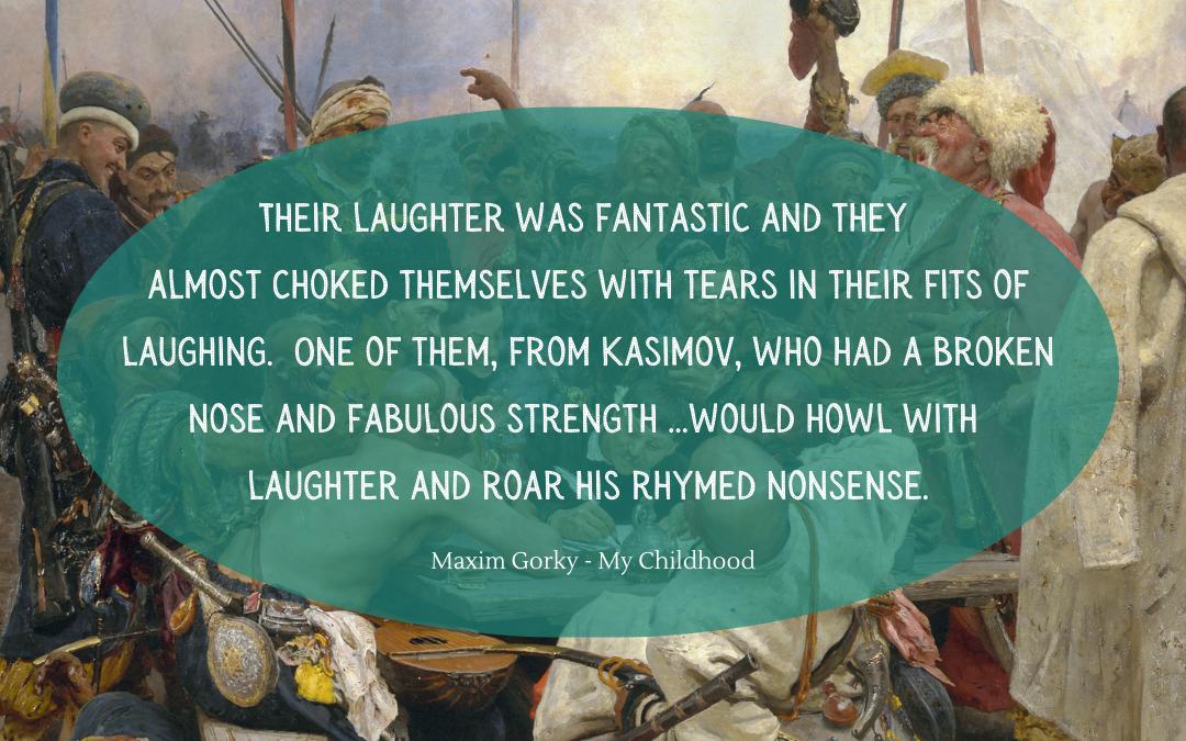 Quotation - Maxim Gorky - My Childhood
