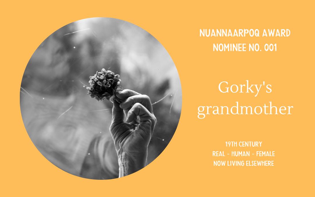 Nuannaarpoq award nominee - Gorky grandmother