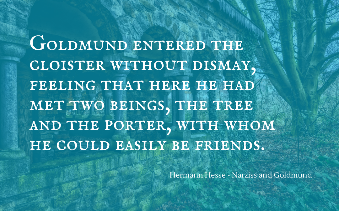 Quotation - Hermann Hesse - Narziss and Goldmund